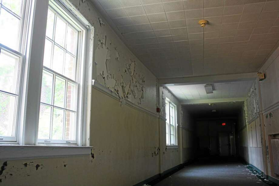The 93-year-old Academy School building. Photo: Sean Carlin/New Haven Register