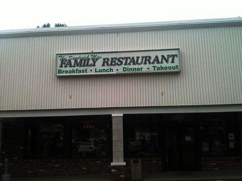The Sandwich Man restaurant in Seymour is closed. Photo: CONTRIBUTED PHOTO