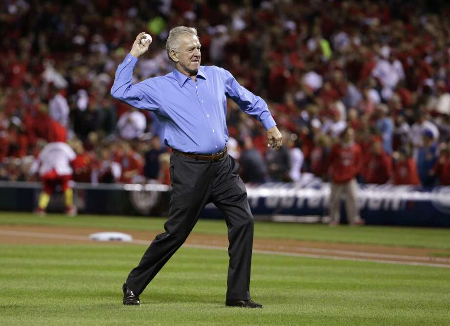 Tim McCarver was a near constant on the World Series soundtrack with his unique style as an analyst and familiar Tennessee twang. But this October, McCarver is experiencing the Series just like millions of other viewers by watching back home in Florida instead of his usual spot in the broadcast booth. Photo: The Associated Press File Photo   / AP