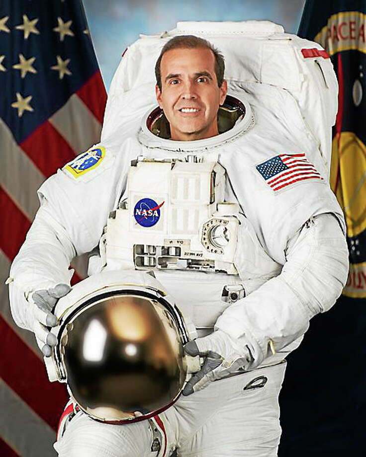 Astronaut Rick Mastracchio will receive an honorary degree from the University of Connecticut while serving on the International Space Station. Photo: Journal Register Co. / Hasselblad H3D