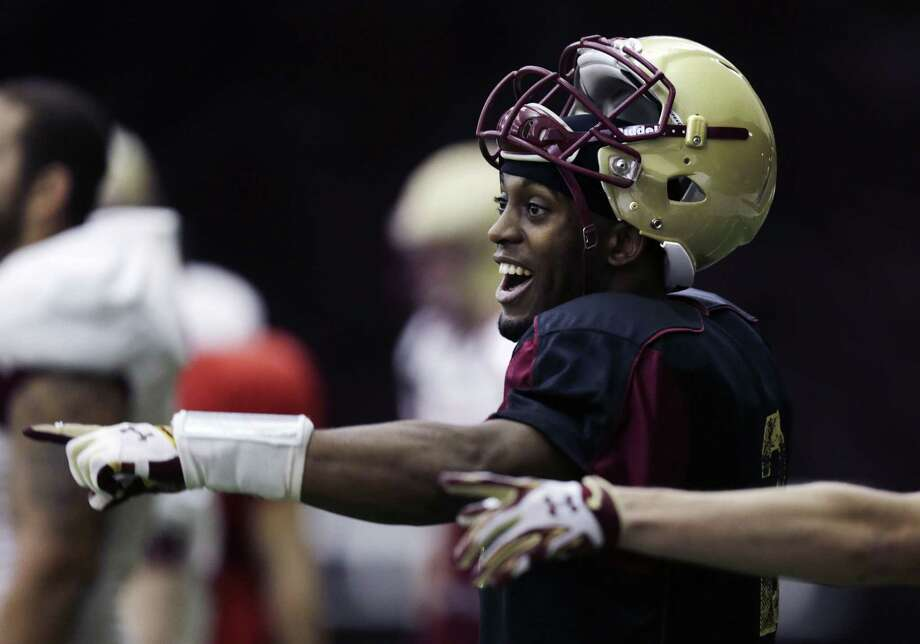 "Boston College quarterback Tyler Murphy is the 2014 Walter Camp Football Foundation ""Connecticut Player of the Year."" Photo: The Associated Press File Photo   / AP"