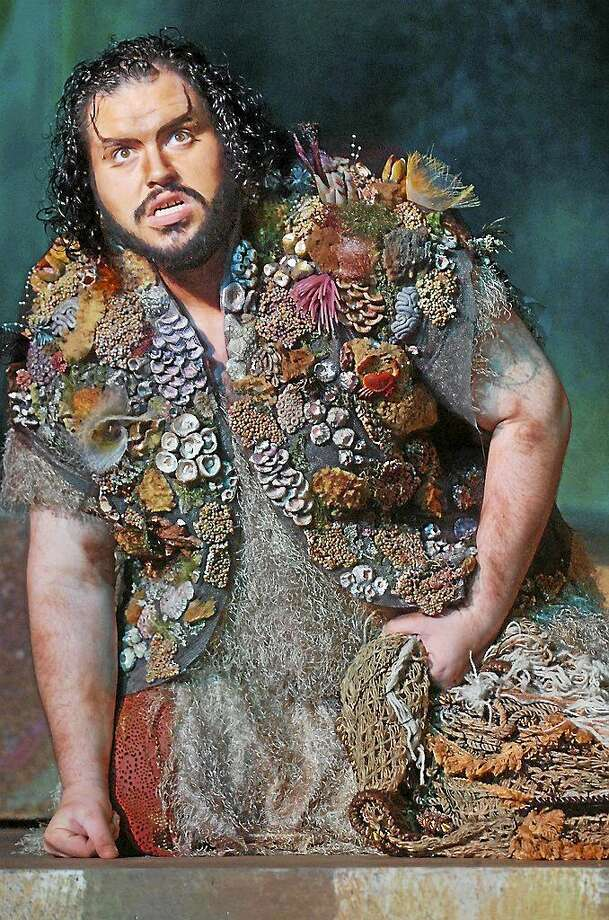 """Yale-trained tenor Eric Barry as Caliban in """"The Tempest."""" Photo: Contributed"""