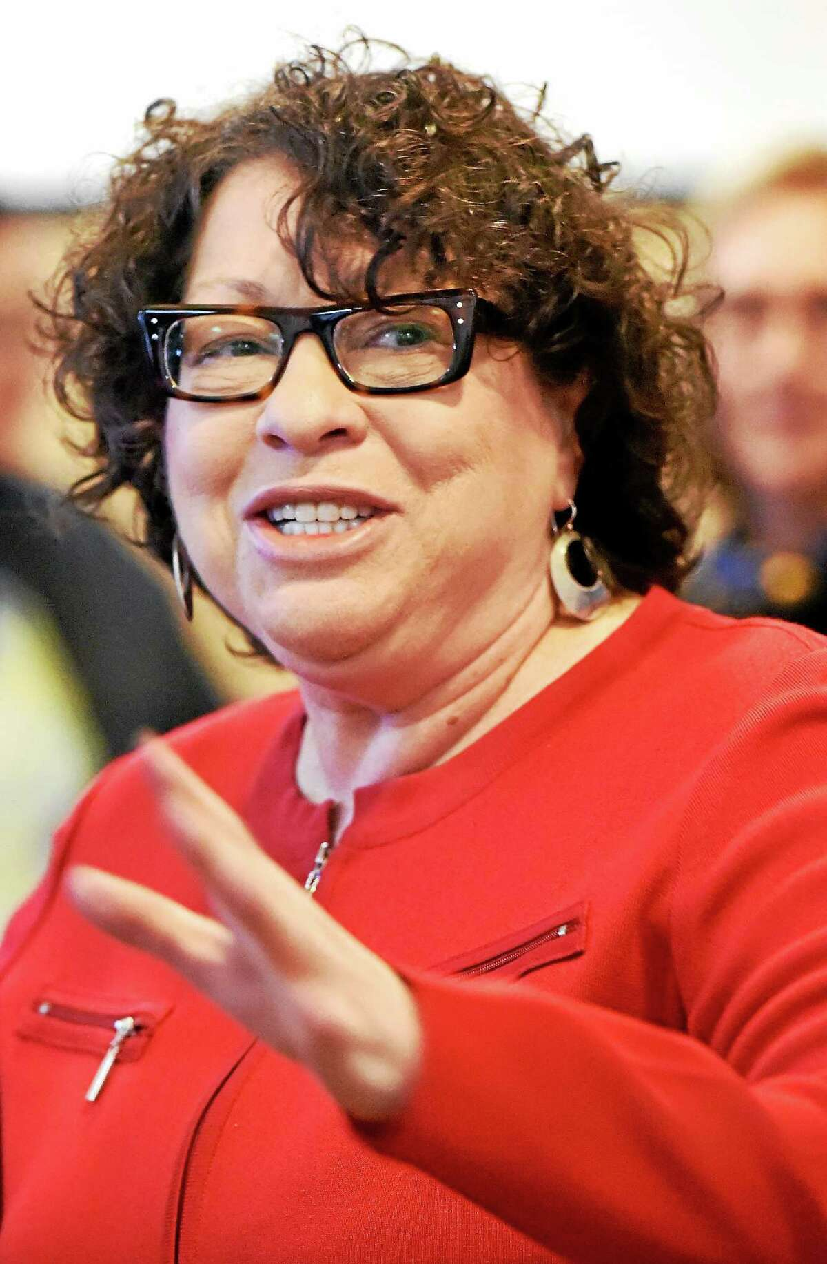 Supreme Court Justice Sonia Sotomayer speaks at UNH Friday.