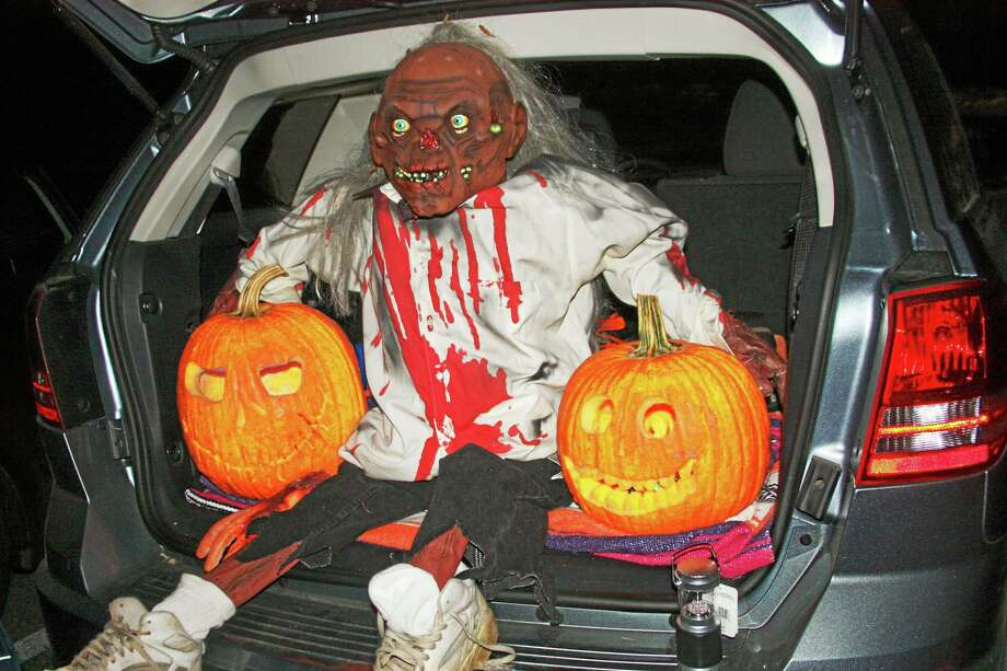 one particularly frightful trunk from last years trunk or treat event in seymour photo