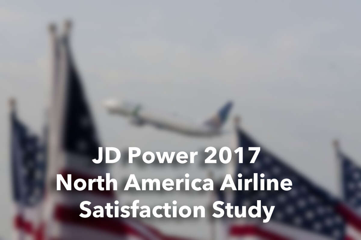 The J.D. Power 2017 North America Airline Satisfaction Study ranks traditional and low-cost airlines. Click through the photos to see where your favorite airline was ranked.