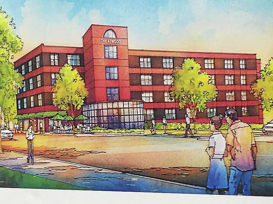 Artist's rendering of the Carroll Cut-Rate project. Photo: Journal Register Co.