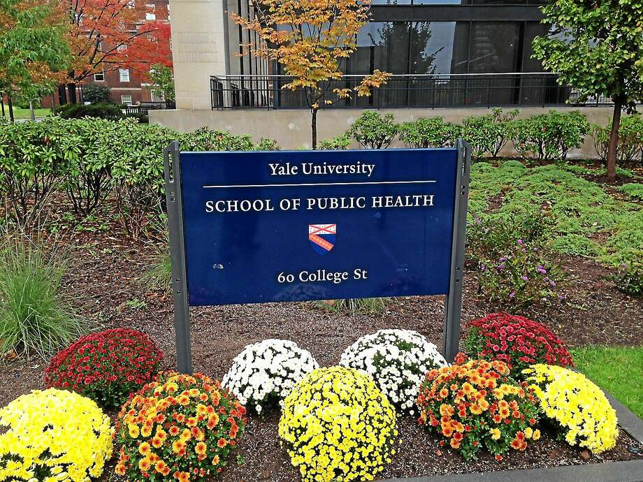 The Yale School of Public Health's main building is at 60 College St., New Haven. Photo: Journal Register Co.