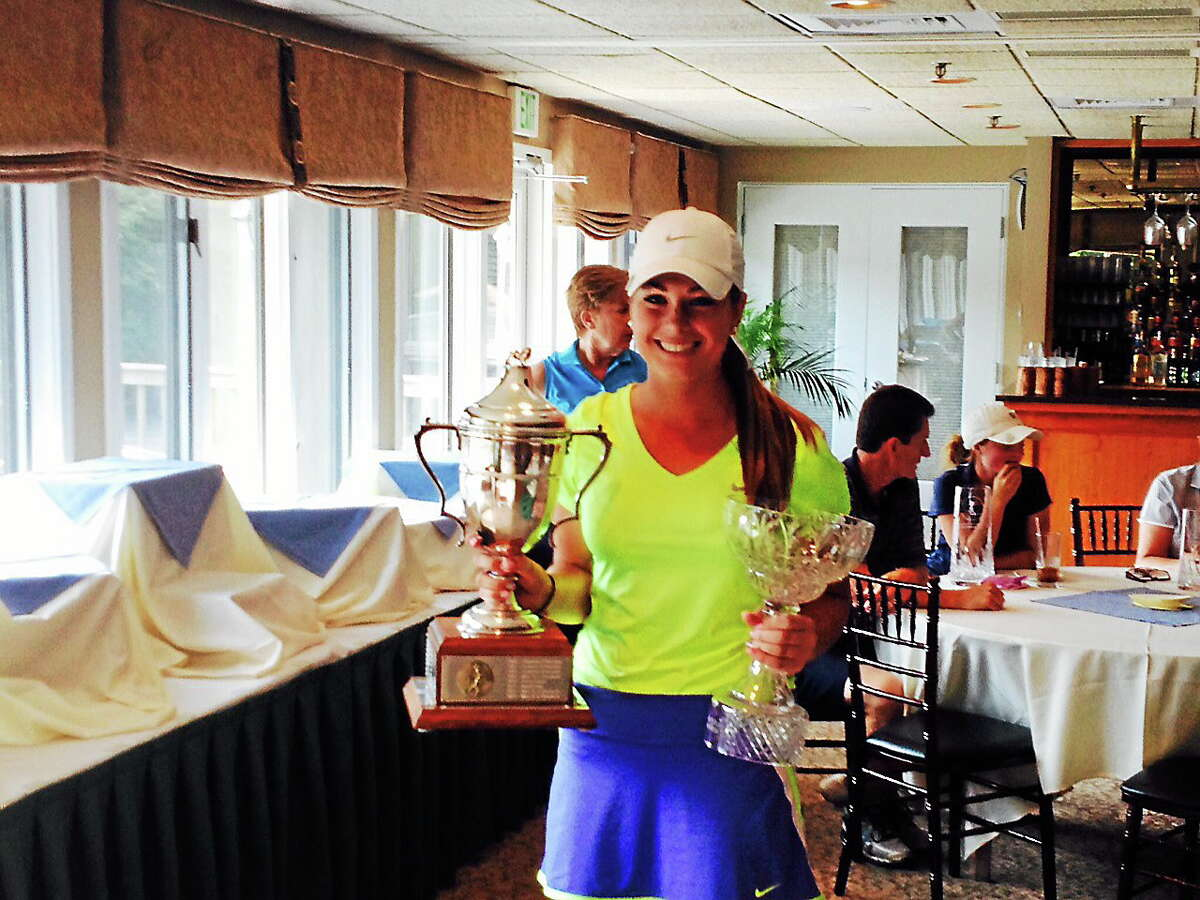 Kelly Whaley won her second straight Connecticut Women's Amateur title and third overall.