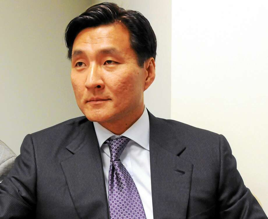 File - Sung-Ho Hwang, an attorney in New Haven, is shown in this 2012 photo.   (Mara Lavitt — New Haven Register) Photo: Journal Register Co.