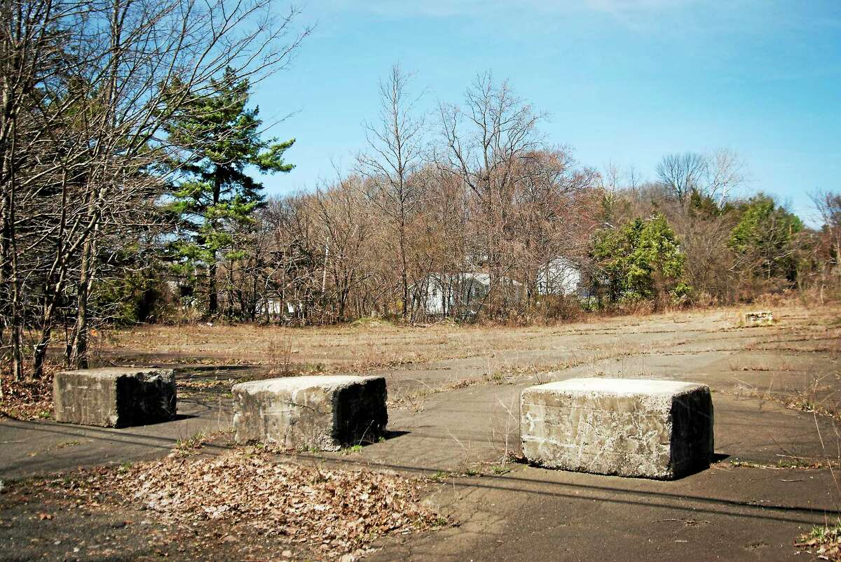 A vacant lot at 155 Sanford St. in Hamden.