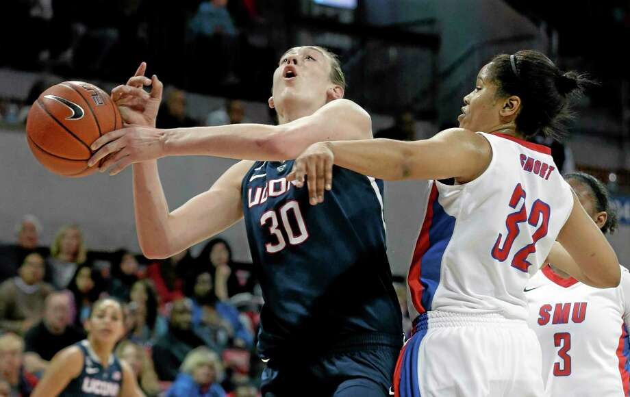 UConn's Breanna Stewart is enjoying a sensational sophomore season. Photo: LM Otero  — The Associated Press   / AP