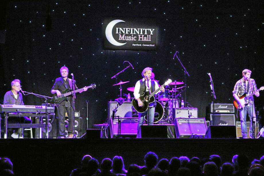 CPTV photo  From left, Gerry Beckley, Richard Campbell, Dewey Bunnell and Bill Worrell of America. Photo: Journal Register Co. / TODD@TODDGAYPHOTOGRAPHY.COM