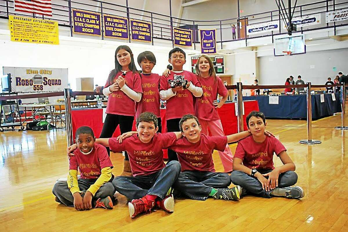 From left front: Isaiah Moore, Joseph Gaetano, David Gaetano, Sean Ayoub; and back Jordan Hines, Nathaniel Seluga, Justin Gentallan and Violet Wilson. (Contributed photo)