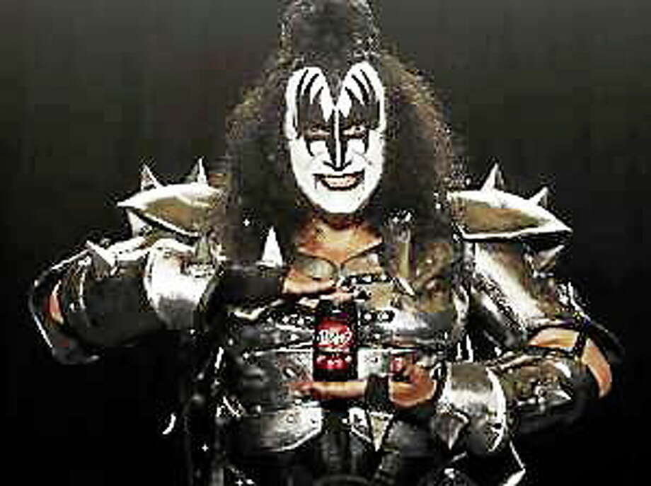 A television ad featuring Kiss band member Gene Simmons that aired during the 2010 Super Bowl. Photo: (Dr. Pepper Snapple)