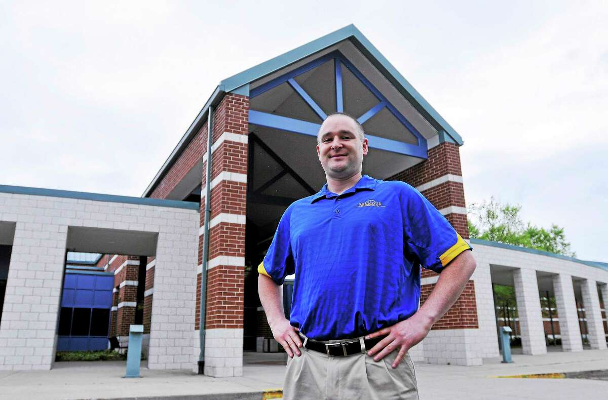 Seymour Middle School teacher Brian Cleveland has won the Teacher of the Year award for Seymour this year.