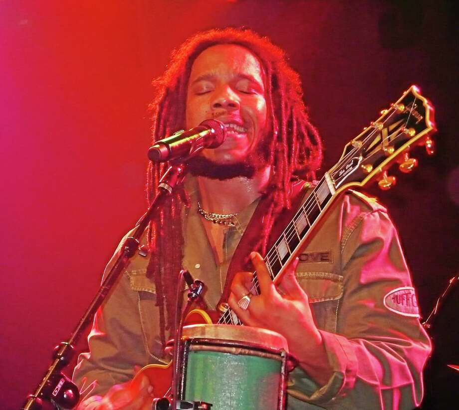 """Bob Marley's musical legacy lives on in his five sons, including Stephen """"Ragga"""" Marley, who will play Toad's this week. Photo: Contributed Photo"""