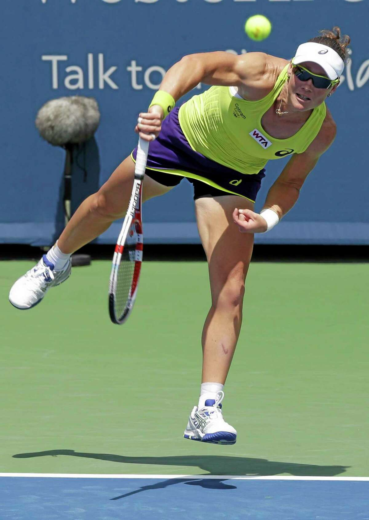 Sam Stosur has been awarded a wild card into the Conecticut Open, which begins with qualifying play Friday at the Connecticut Tennis Center.