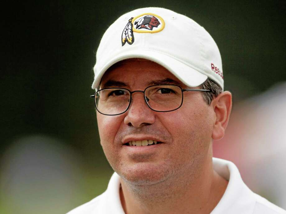 """The campaign to ditch """"Redskins"""" by those who consider it a racial slur has reached unprecedented momentum over the last 18 months. Owner Dan Snyder has always vowed never to change the name. Photo: Carolyn Kaster — The Associated Press File Photo   / AP"""