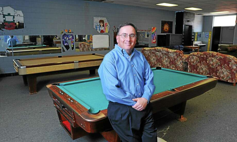 (Peter Casolino-New Haven Register)  Bob Petrucelli, who oversees the Juvenile Review Board, also is the youth services director for the town. He is shown in the East Haven Teen Center. Photo: Journal Register Co.