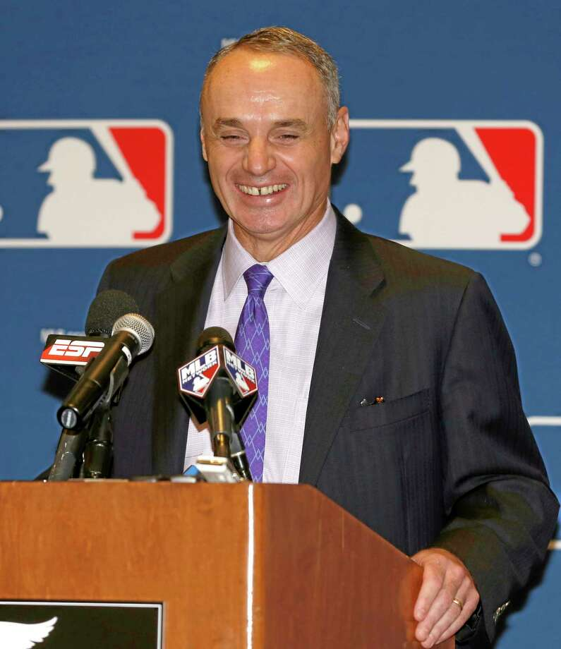 Major League Baseball Chief Operating Officer Rob Manfred has been elected the 10th commissioner of MLB. Photo: Reinhold Matay — The Associated Press   / FR156687 AP