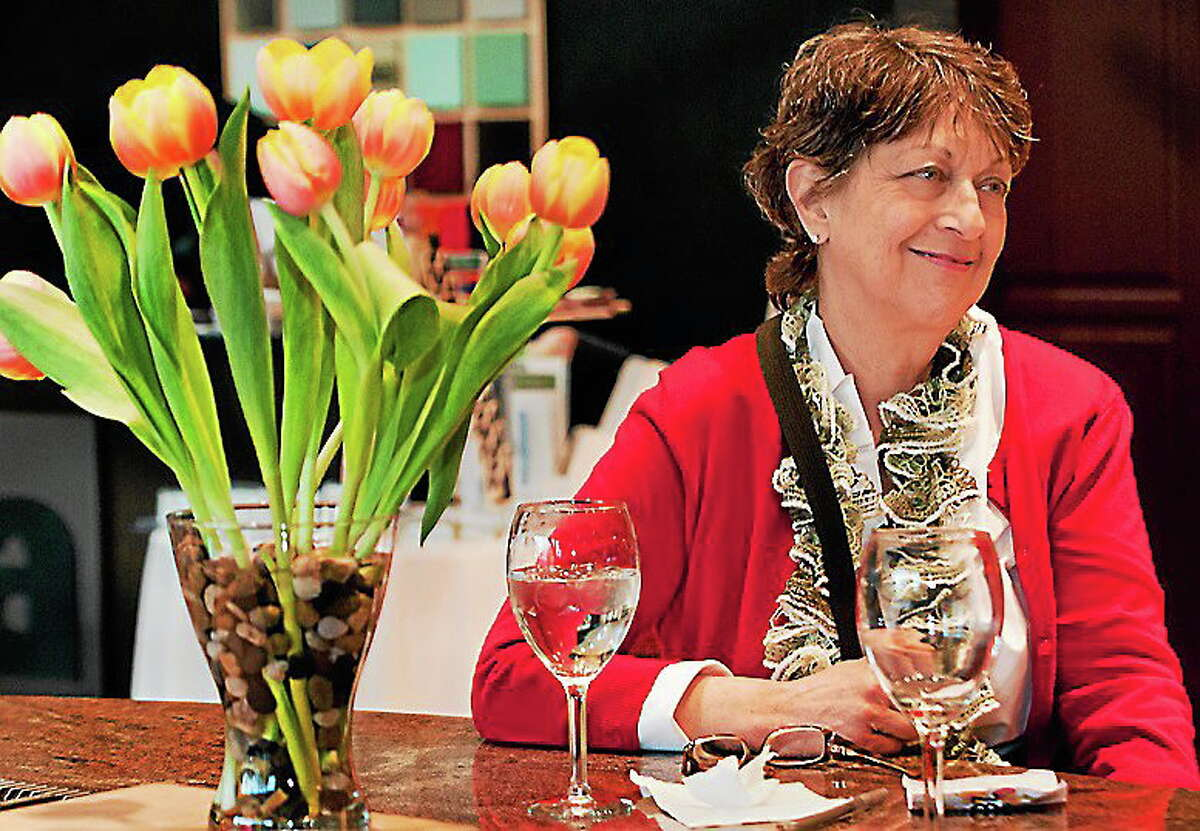 Pictured is Claire Criscuolo, an author, chef and the owner of Claire's Corner Copia in New Haven.