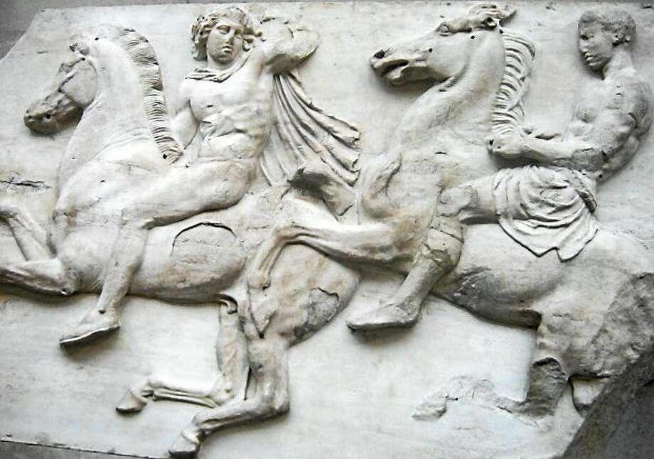 Parthenon Marbles Photo: Photo From Wikipedia