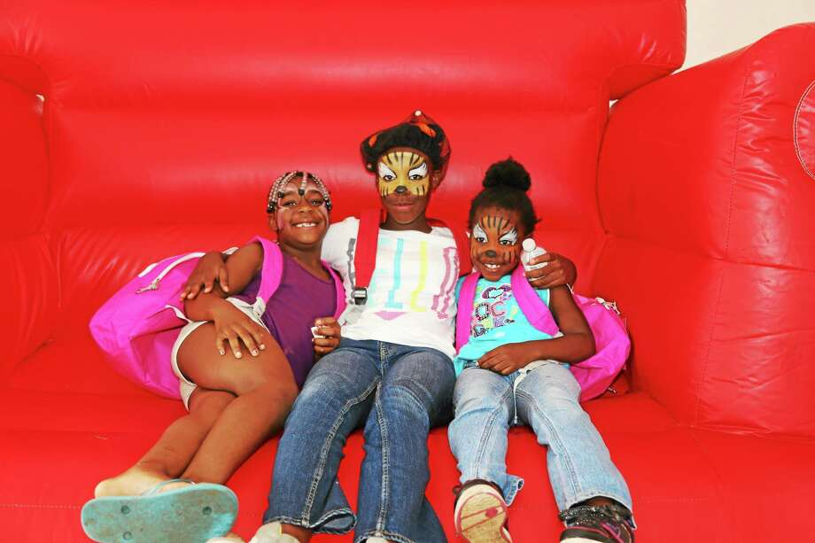A Back to School Fair was held at the Elm City Communities/ Housing Authority of the city of New Haven Photo: Journal Register Co. / Neckbones Photography