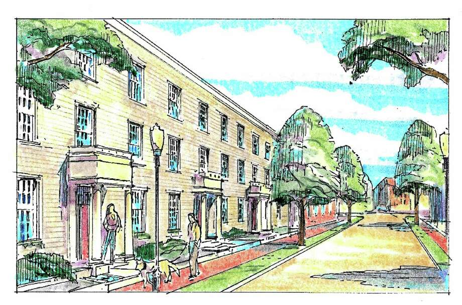 Image of the proposed renovation of the Star Supply property bound by State, Lawrence and Mechanic streets in New Haven. Photo: Journal Register Co.