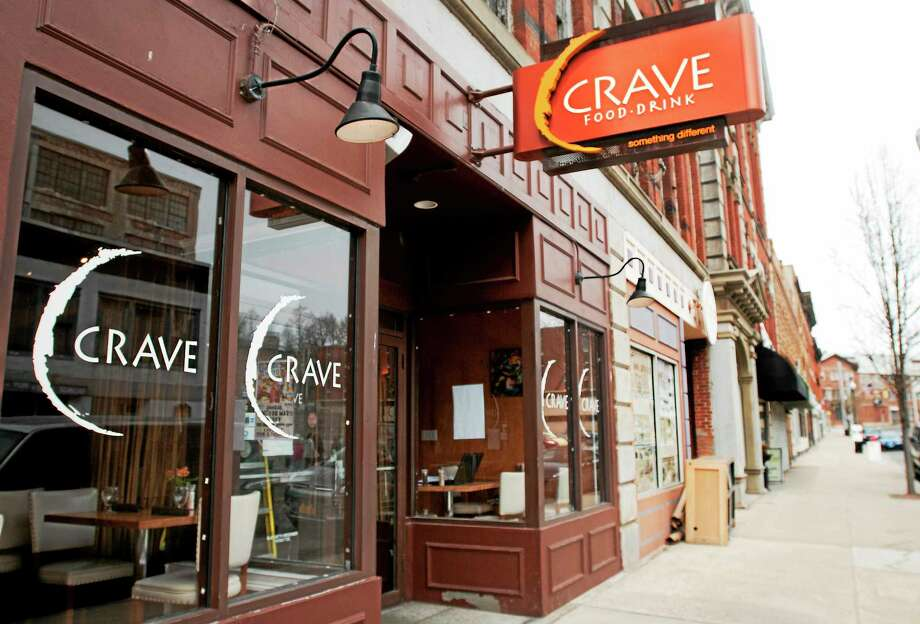 Crave restaurant in Ansonia is among several Valley businesses recently burglarized. Photo: Melanie Stengel — NEW HAVEN Register