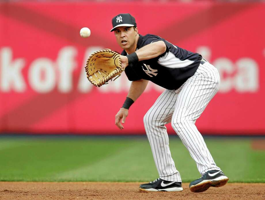 New York Yankees first baseman Mark Teixeira, who is on the disabled list, could be back in the lineup by Monday. Photo: Kathy Willens — The Associated Press   / AP