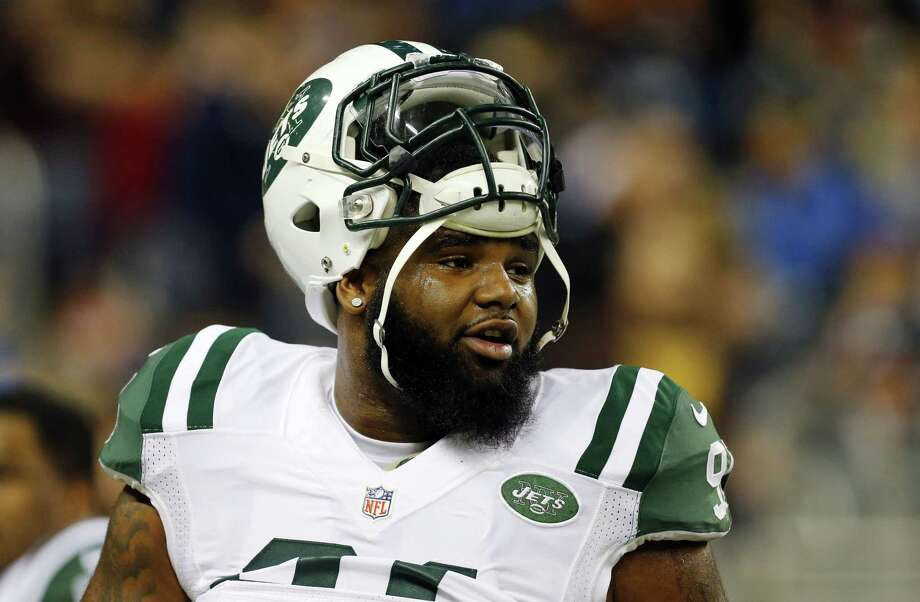New York Jets defensive end Sheldon Richardson felt helpless as he watched the scenes near his hometown unfold on TV and social media. He was born and raised in St. Louis, just a few minutes away from the suburb of Ferguson, Mo., where police officer Darren Wilson was not indicted by a grand jury last week in the shooting death of Michael Brown. Photo: Paul Sancya — The Associated Press   / AP