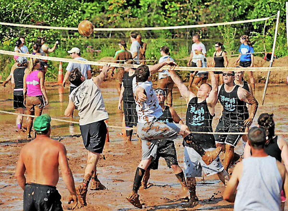 There's still time to enter your crew in the Epilepsy Foundation of Connecticut's 28th annual Mud Volleyball Tournament Saturday.