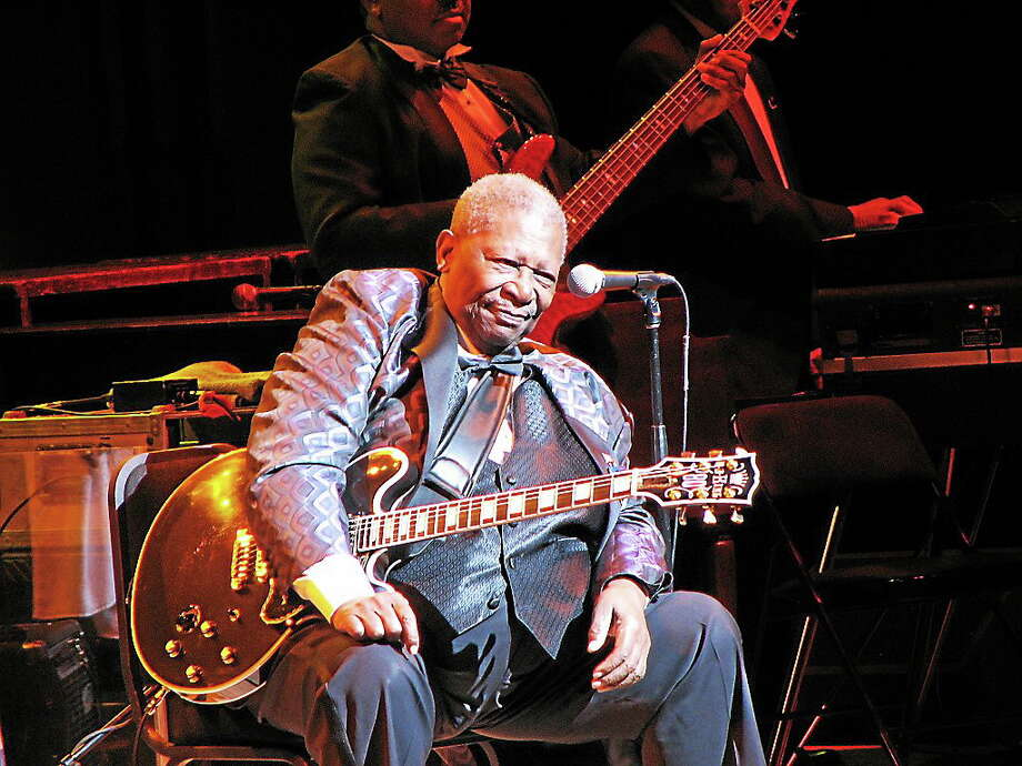 "Who says ""The Thrill Is Gone""? B.B. King will be at The Klein Friday night. Photo: Contributed"