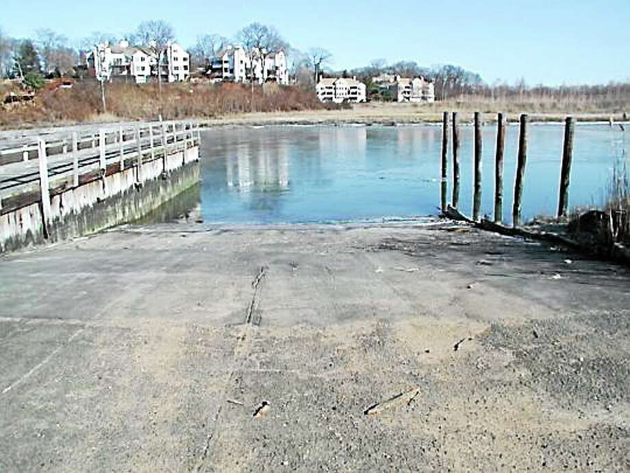 According to the state Department of Energy and Environmental Protection, Branford's aging boat launch site could be fully revamped by next spring. (Courtesy - CT DEEP) Photo: Journal Register Co.