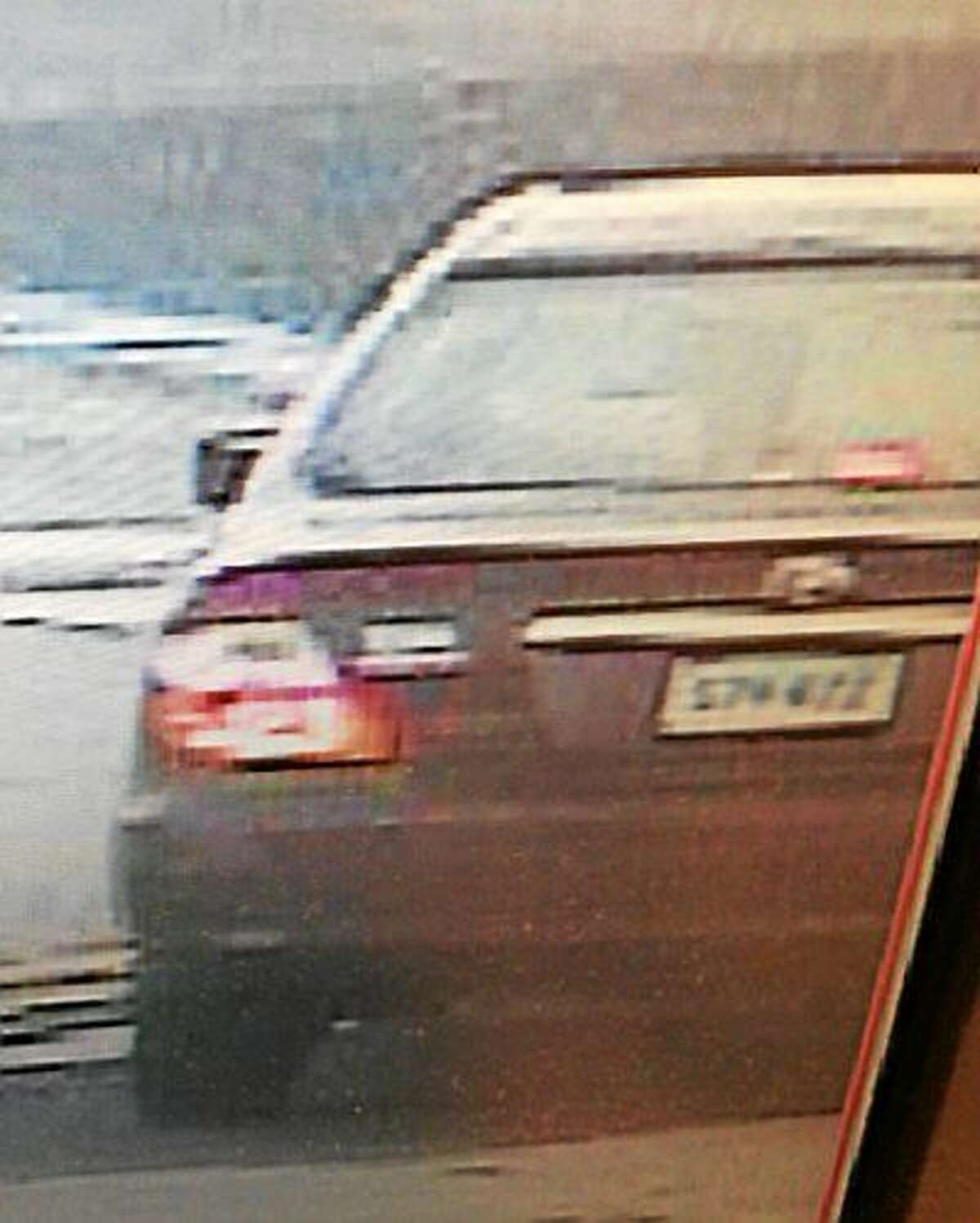 Police say they are looking for information on the operator of this vehicle.