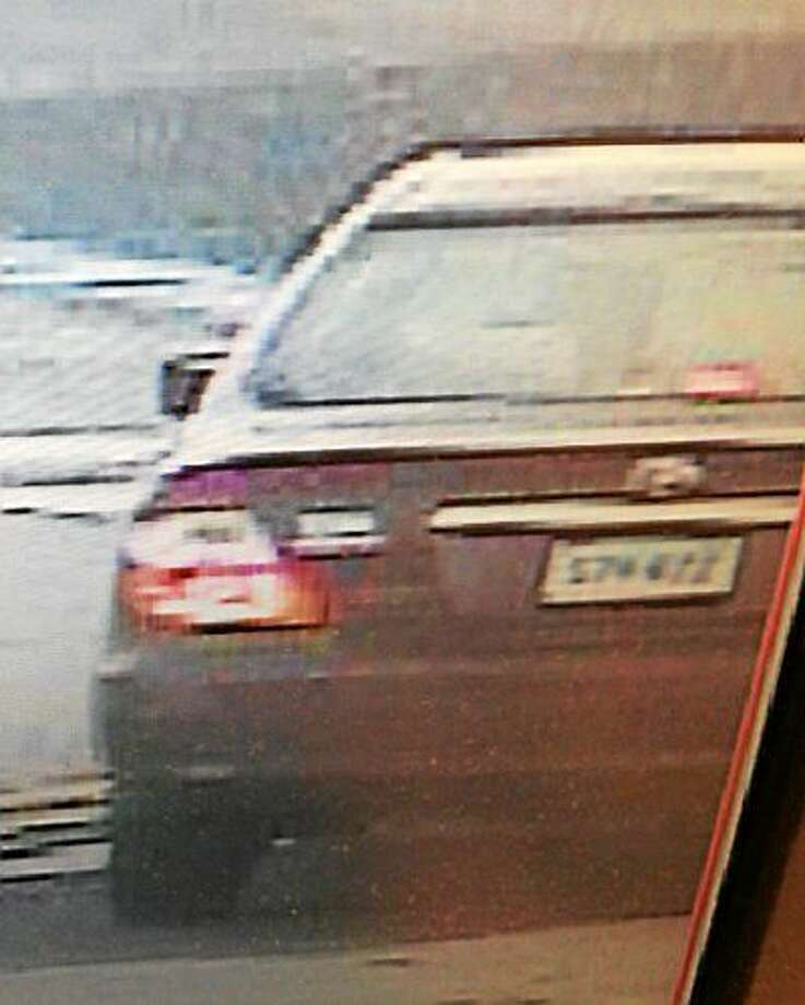 Police say they are looking for information on the operator of this vehicle. Photo: Photo Courtesy Of The Hamden Police Department