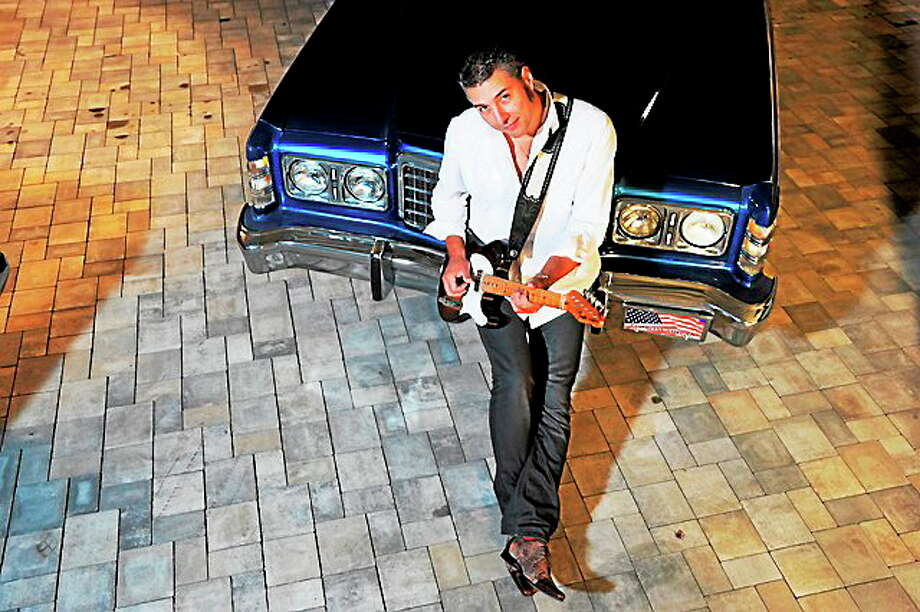 Submitted photo courtesy of the artist  On Friday, Roberto Morbioli is at the Cypress Restaurant. This Italian guitarist makes a regular stop in Middletown when touring the Northeast. Photo: Journal Register Co. / Andreas Henk Fotografie