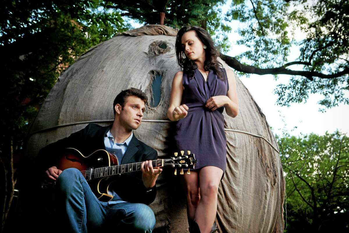 Goodnight Moonshine's Molly Venter and Eben Pariser are more than musical partners.