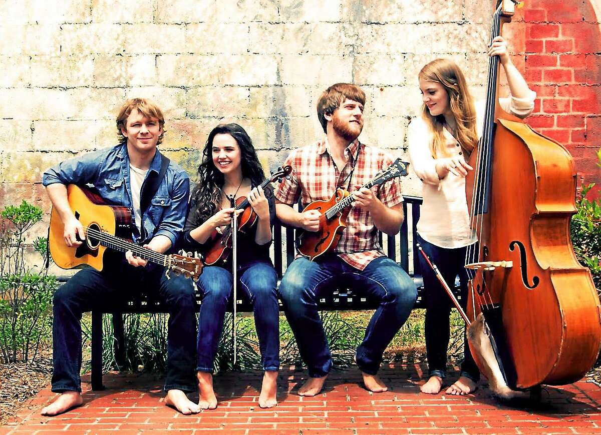 The Barefoot Movement's Christmas Tour brings the bluegrass group to North Madison Congregational Church Saturday night.