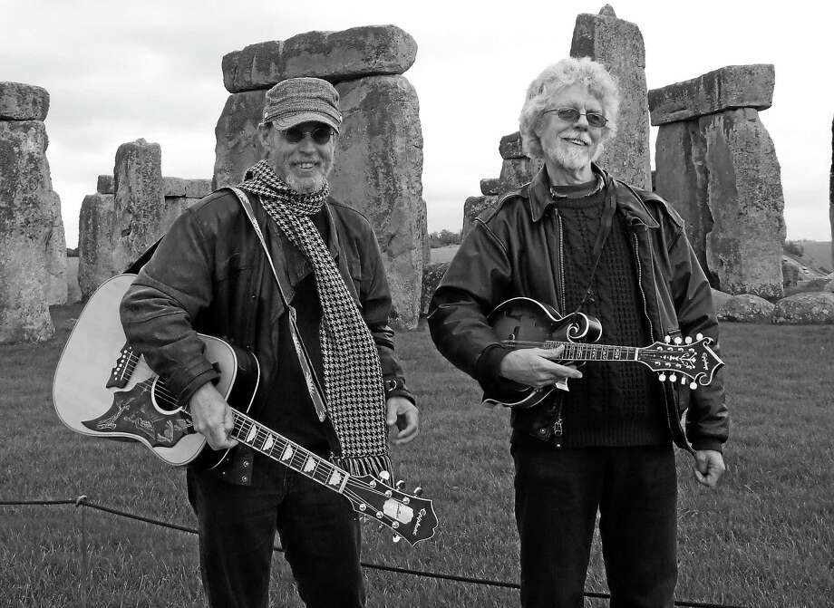 While Little Feat is on hiatus, Paul Barrere, left, and Fred Tackett tour playing all the band's hits. Photo: Contributed