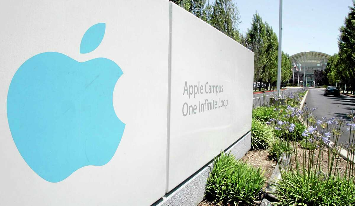 This 2009 file photo shows Apple headquarters in Cupertino, California.