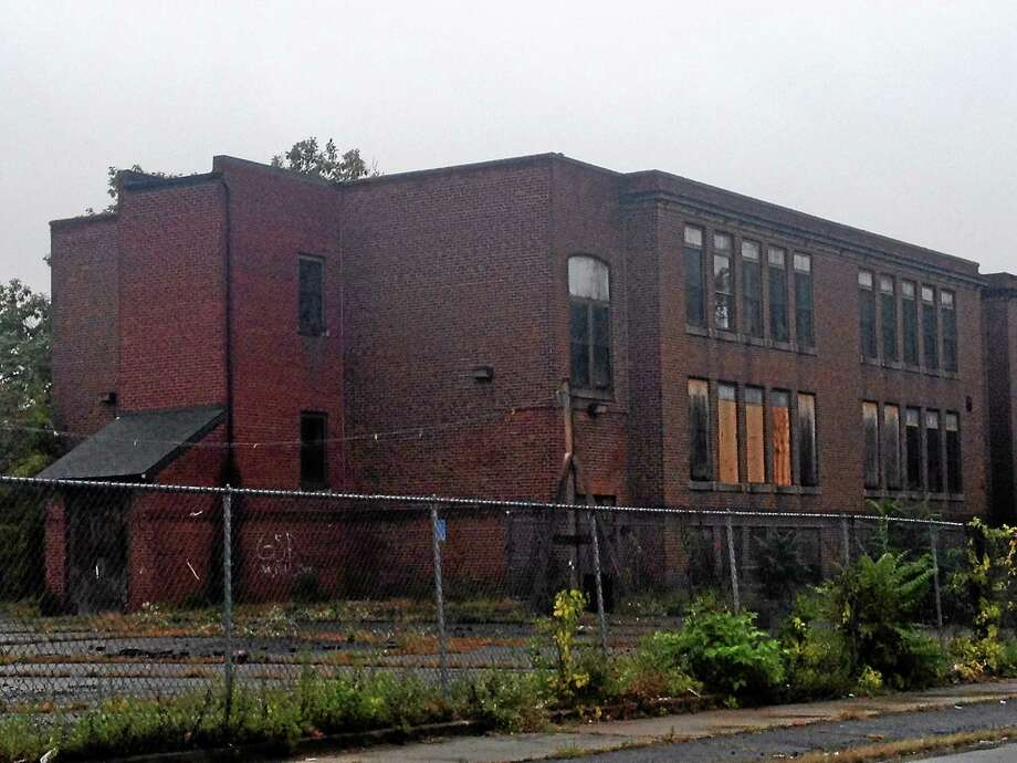 Construction for a business incubator at the former Newhall Community Center is set to finish in 2015. Photo: Keldy Ortiz — New Haven Register