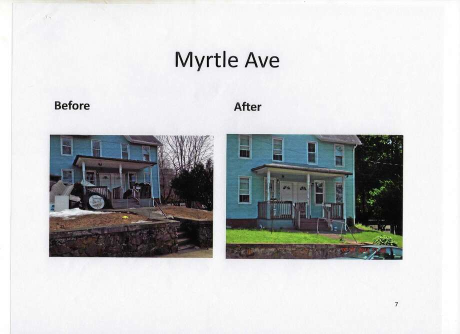 Examples of remediated blighted sites. Photo: Contributed Photo