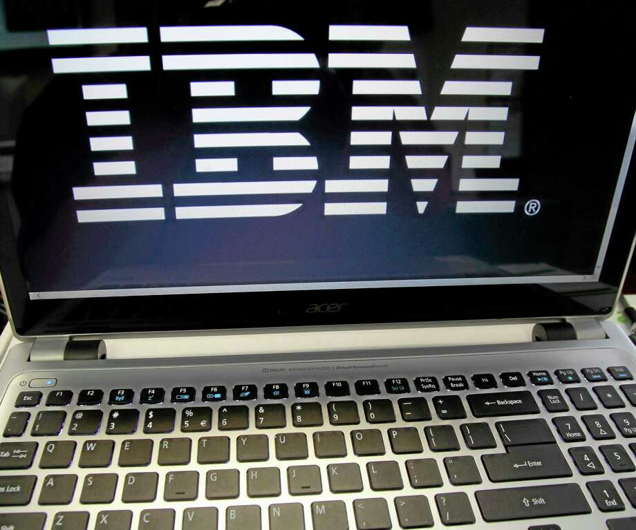 This July 16, 2013, photo shows an IBM logo in Berlin, Vt. Photo: Toby Talbot — The Associated Press   / AP