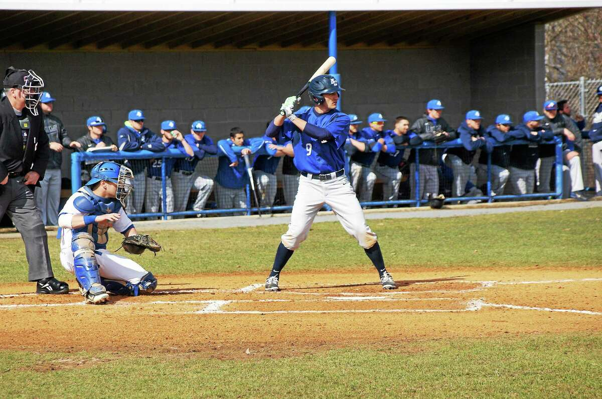 Cheshire's Matt Burns is Southern Connecticut State's leading hitter, carrying a .381 average into Wednesday's matchup with the University of New Haven.