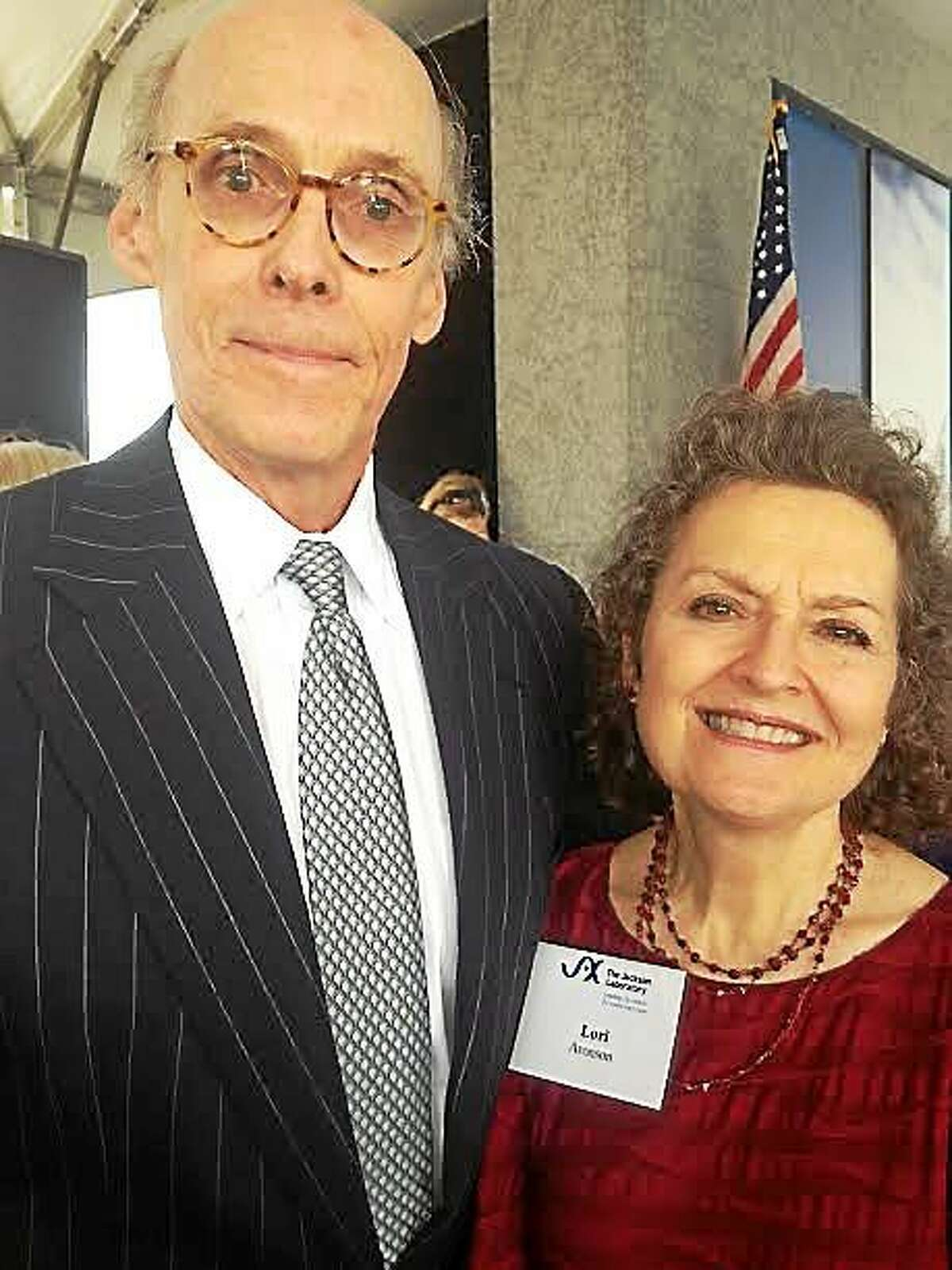 Tim Bannon, former chief of staff to Malloy and his wife, Lorraine Aronson, who first noticed Jackson Laboratory was looking for a partner.