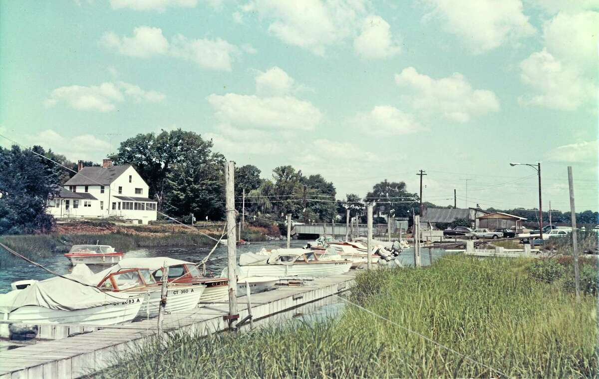 The old marina in1960s. Photo courtesy of the Charlotte L. Evarts Memorial Archives