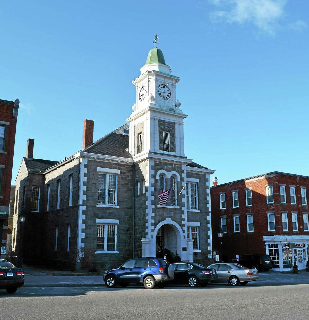 The Litchfield County Courthouse in Litchfield.