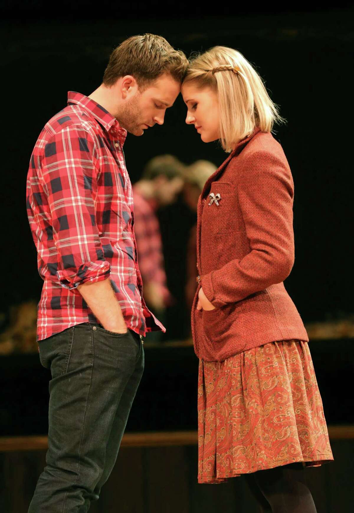 © Joan Marcus Dani de Waal is the Girl who inspires the Guy, played by Stuart Ward.