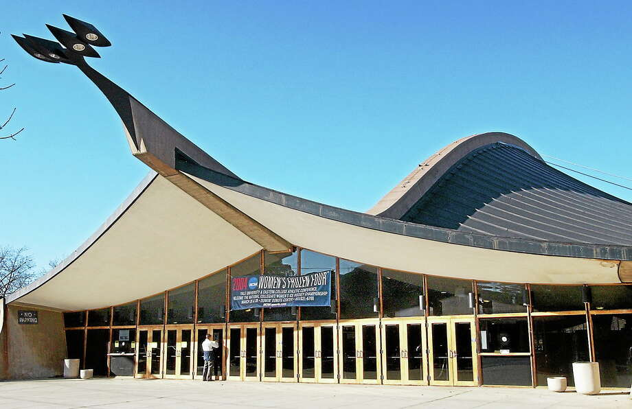 Yale University's world-famous Ingalls Rink designed by Eero Saarinen is seen in this February 2004 file photo. Photo: Mara Lavitt — New Haven Register File Photo